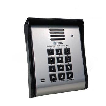 Unidade Externa Porteiro Eletrônico Com Vídeo 12 Teclas F12-SV 90.02.01.045 HDL