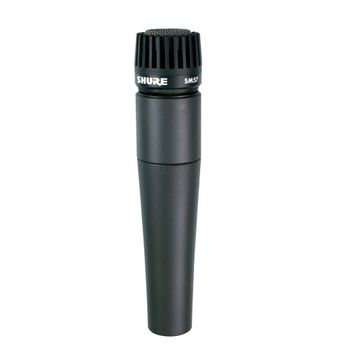 MICROFONE DINÂMICO CARDIOIDE COM CABO XLR/XLR SM57-LC 027869 SHURE