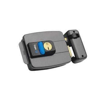 Fechadura Elétrica Dupla com Botão C90 90.01.03.036 HDL