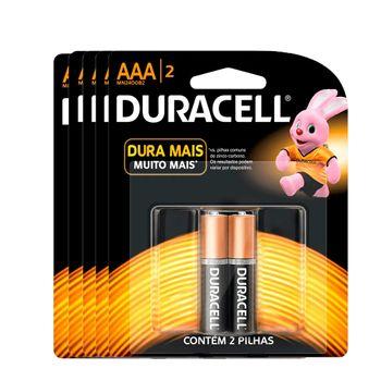 Kit-Pilhas-Alcalina-AAA-Palito-com-10-Unidades-Duracell