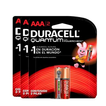 Kit-Pilhas-Alcalina-Palito-AAA-Quantum-com-6-Unidades-Duracell
