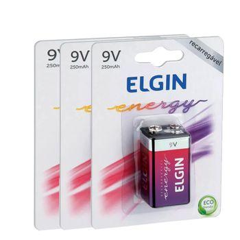 Kit-Baterias-Recarregaveis-9V-com-3-Unidades-Elgin