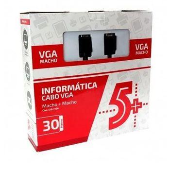 Cabo-VGA-M-x-VGA-M-30M-com-Filtro-Preto
