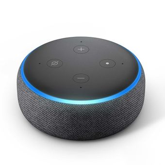 Echo-Dot-com-Alexa-3°-Smart-Speaker-Preto-Amazon