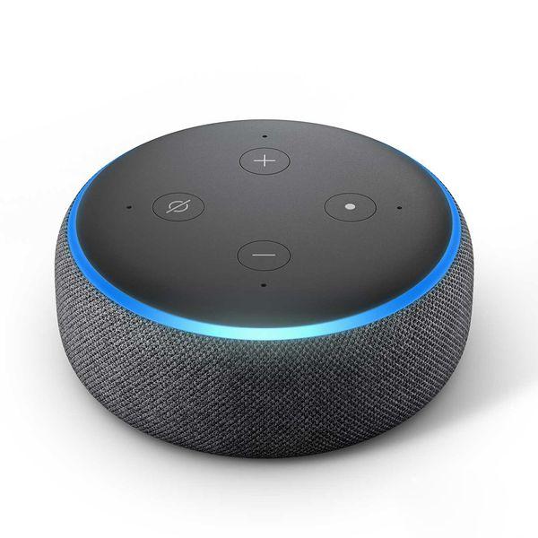 Echo Dot com Alexa 3° Smart Speaker Preto Amazon - Eletrônica Santana - ES  Tech