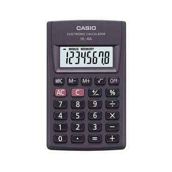 Calculadora-de-Bolso-Dig-Big-HL-4A-Preta-CASIO