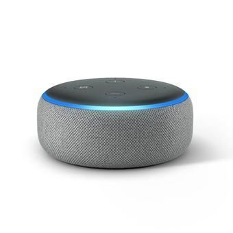 Echo-Dot-com-Alexa-3°-Smart-Speaker-Cinza-Amazon