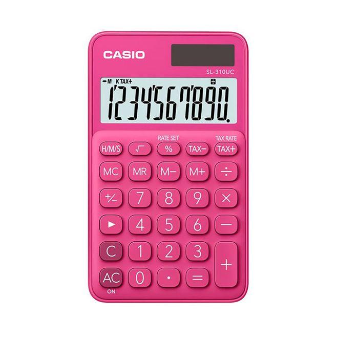 Calculadora-de-Bolso-Dig-SL-310UC-Rosa-CASIO