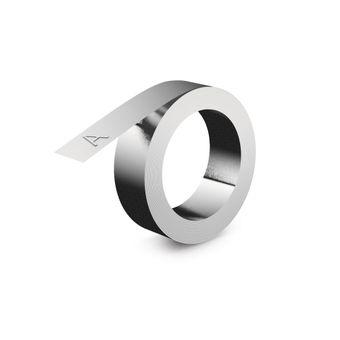 Fita Para Rotulador Industrial (13mm x 5m) Alumínio Adesivo 35800 – Dymo