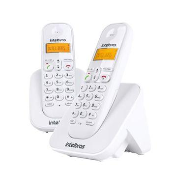 Telefone-sem-Fio-com-Ramal-TS-3112-Branco-Intelbras