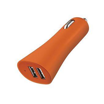 Carregador-Automotivo-USB-CB079-Laranja-Multilaser
