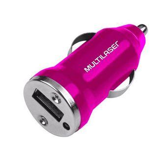 Carregador-Automotivo-USB-CB107-Rosa-Multilaser
