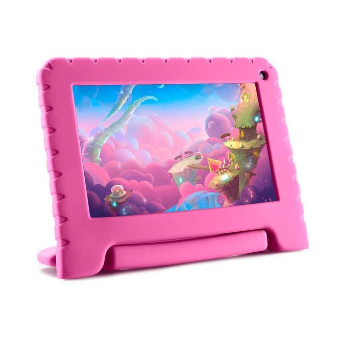 Tablet Mirage Infantil 45t Rosa 16gb Wi-fi