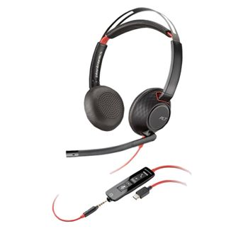 Headset-Blackwire-C5220-USB-C-Plantronics