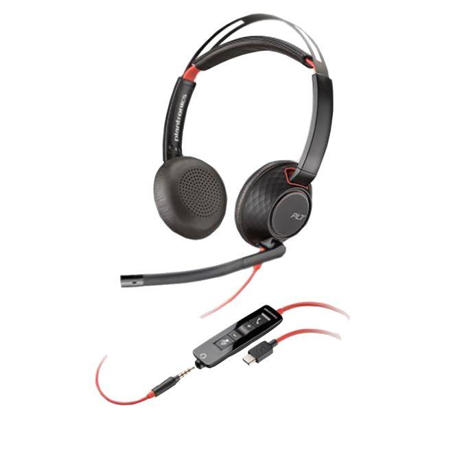 Headset-Blackwire-C5220-USB-C-Plantronics