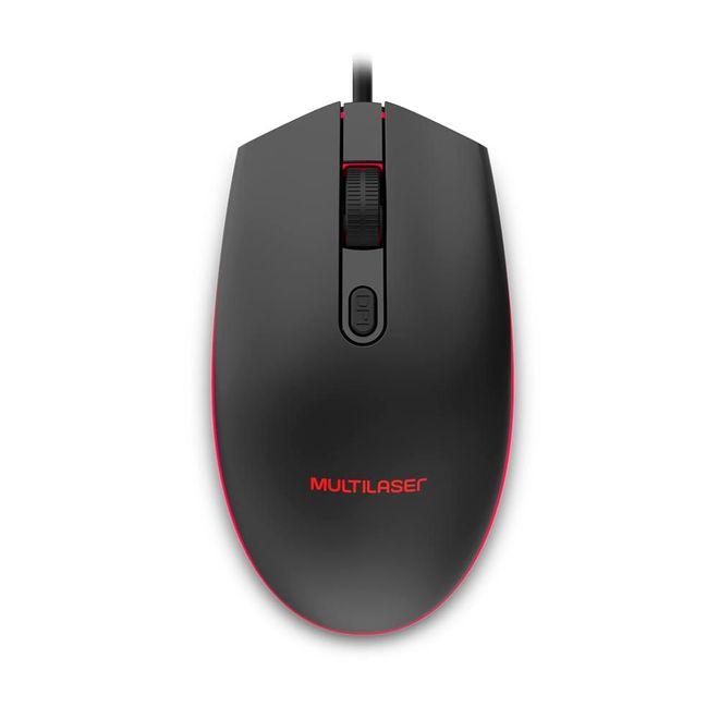 Mouse 2400 Dpis Mo298 Multilaser