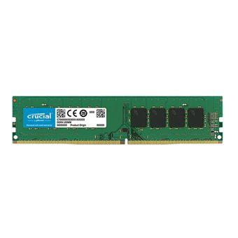 Placa de Memória 16GB DDR4 2666Mhz Cl19 Crucial