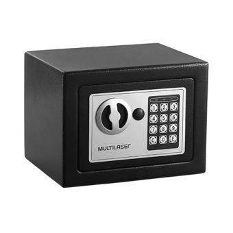 Cofre Eletrônico Preto OF007 Multilaser
