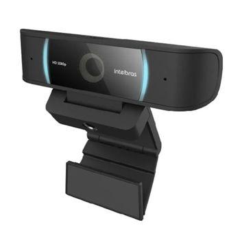 Webcam Full HD USB Preto CAM-1080p Intelbras