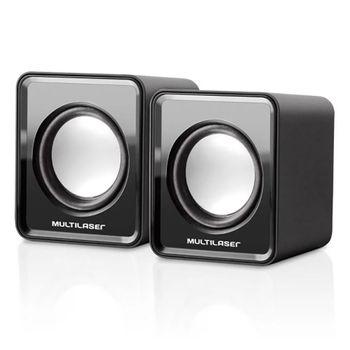 Caixa de Som 20 Mini 3W Preta SP144 Multilaser