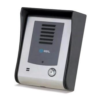 Unidade Externa Porteiro Eletrônico com Vídeo Pinhole Sense 90.02.02.254 HDL