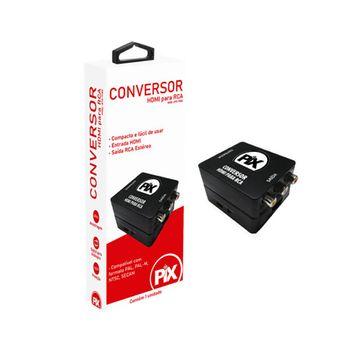 Conversor de Vídeo HDMI para RCA Pix
