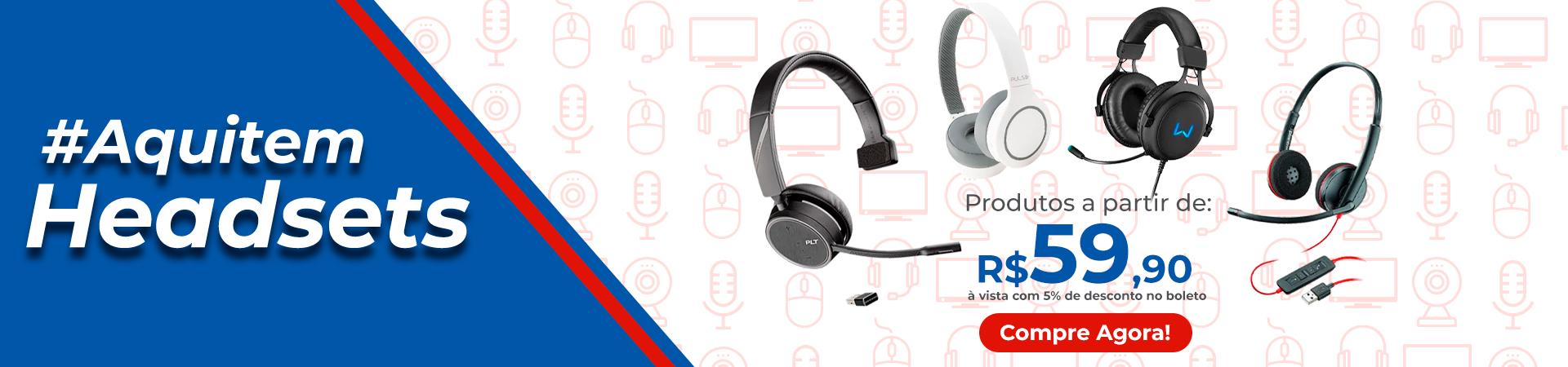 Banner Desk - Headsets